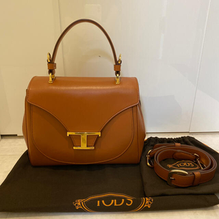 TOD'S - 【美品】TOD'S T Timelessハンドバッグ♡