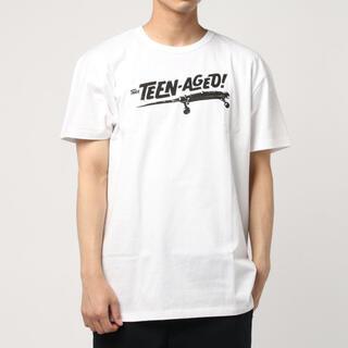 ショット(schott)の新品★Schott THEE TEEN AGED Tシャツ ホワイト/M(Tシャツ/カットソー(半袖/袖なし))