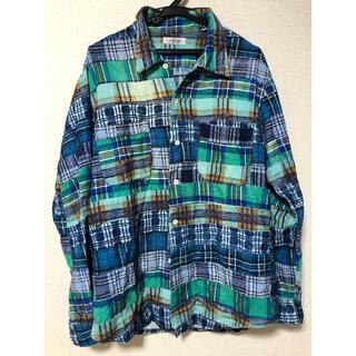 ハリウッドランチマーケット(HOLLYWOOD RANCH MARKET)の【HRM】ハリウッドランチマーケットチェックネルシャツ(Tシャツ/カットソー(七分/長袖))