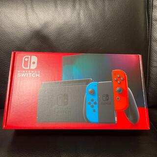 ニンテンドースイッチ(Nintendo Switch)のNintendo Switch (L) ネオンブルー / (R) ネオンレッド(家庭用ゲーム機本体)