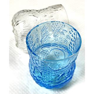 アラビア(ARABIA)のヌータヤルヴィ  ファウナ グラス 2個(グラス/カップ)