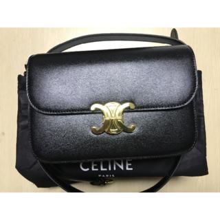 セリーヌ(celine)のセリーヌショルダーバッグ ブラック トリオンフ100%正規品(ショルダーバッグ)