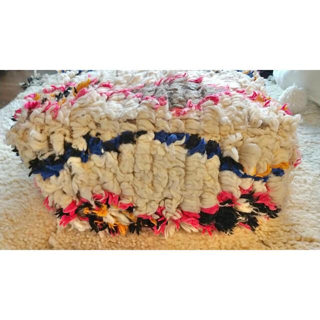 ACTUS(アクタス)のモロッコ プフ pouf アジラル オットマン クッション 2 インテリア/住まい/日用品のソファ/ソファベッド(オットマン)の商品写真