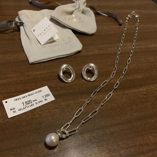 ビューティアンドユースユナイテッドアローズ(BEAUTY&YOUTH UNITED ARROWS)のBY購入 VELATTI ネックレスとピアスのセット(ネックレス)