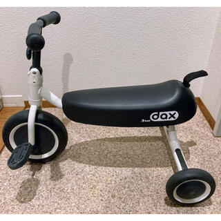 アイデス(ides)のキッズバイク 三輪車 バイク ides D-bike dax 白(三輪車)