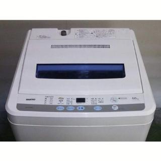 サンヨー(SANYO)の【引き取り可】【ジャンク】サンヨー洗濯機 風乾燥機能搭載 6K(洗濯機)