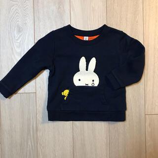 グラニフ(Design Tshirts Store graniph)のグラニフ ミッフィトレーナー サイズ100 (Tシャツ/カットソー)