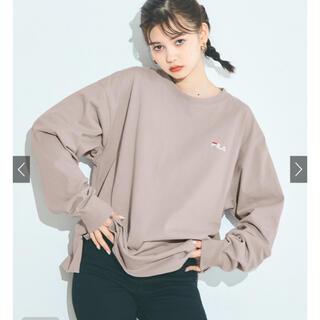 グレイル(GRL)のGRL  FILAロンT(Tシャツ/カットソー(七分/長袖))