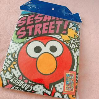 セサミストリート(SESAME STREET)の【ユニバ公式】エルモバスタオル セサミストリート(キャラクターグッズ)