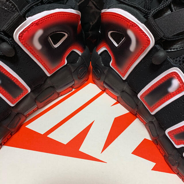 "NIKE(ナイキ)のNIKE AIR MORE UPTEMPO ""LASER CRIMSON"" メンズの靴/シューズ(スニーカー)の商品写真"