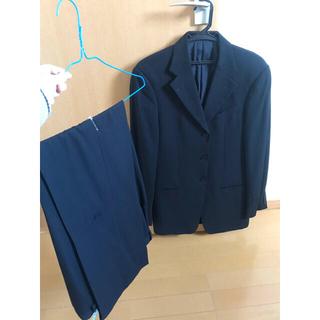 アルマーニ コレツィオーニ(ARMANI COLLEZIONI)のアルマーニ コレツォーニ ストライプ スーツ ブラック(セットアップ)