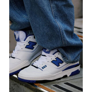 ニューバランス(New Balance)のAH.H フイナム掲載 NEW BALANCE BB550 ブルー 新品(スニーカー)