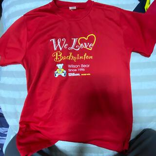 ウィルソン(wilson)のウィルソン ウェア ゲームシャツ(バドミントン)