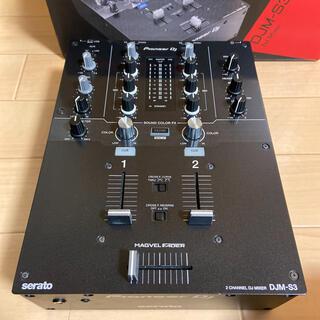 パイオニア(Pioneer)の⚠️ジャンク品 Pioneer DJM-S3  一部要修理⚠️(DJミキサー)