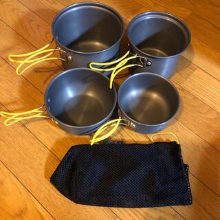 モンベル(mont bell)のモンベル アルパインクッカー ディープ 11,13 セット mont bell(調理器具)