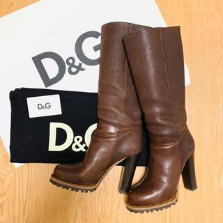 D&G - D&G ロングブーツ 38