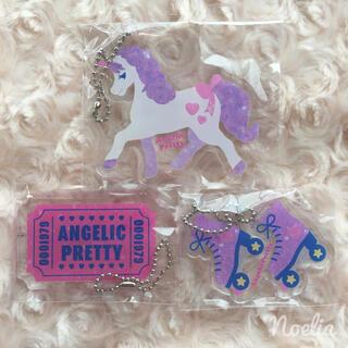 アンジェリックプリティー(Angelic Pretty)のGirly Stickerアクリルキーホルダー3種セット(キーホルダー)
