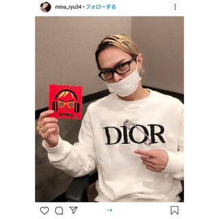 Dior - 20WINTER DIOR AND JUDY BLAME刺繍 スウェットシャツ