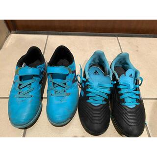 ニューバランス(New Balance)のフットサル靴 ジュニア21センチ 2足セット(シューズ)