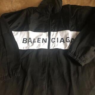 Balenciaga - BALENCIAGA デニム ナイロン トラック ジップアップ ジャケット36