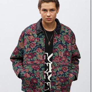 シュプリーム(Supreme)のleather collar work jacket L(レザージャケット)