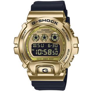 ジーショック(G-SHOCK)のカシオ G-SHOCK 三つ目モデル 腕時計 ブラック×ゴールド(腕時計(デジタル))