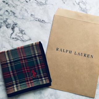 Ralph Lauren - 【新品】ラルフローレン  ガーゼタオルハンカチ ミニタオル ガーゼハンカチ
