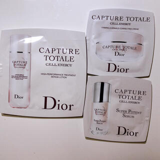 クリスチャンディオール(Christian Dior)のDior  美容液、クリーム、ローション【サンプル】(化粧水/ローション)