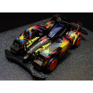 ミニ四駆 トライダガーXX 塗装完成品 サンプル(模型/プラモデル)