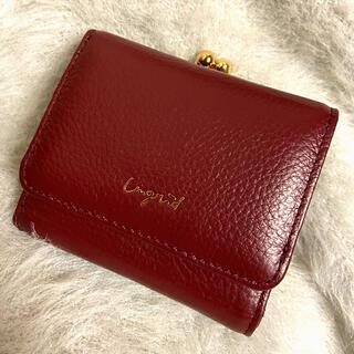 アングリッド(Ungrid)のアングリッド 牛革3つ折り財布(財布)