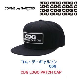コムデギャルソン(COMME des GARCONS)のコム デ ギャルソン CDG★CDG LOGO PATCH CAP キャップ 黒(キャップ)