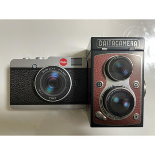 カルディ(KALDI)の新品未開封 KALDI カメラ缶 とレフレックスカメラ缶 セット(菓子/デザート)