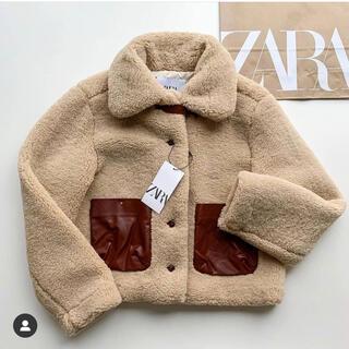 ZARA - ZARA 新品タグ付き ボア生地ジャケット