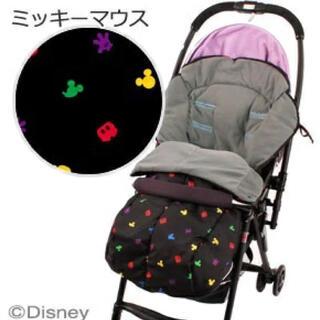 ディズニー(Disney)のディズニー ベビーカー用フットマフ(ベビーカー用アクセサリー)