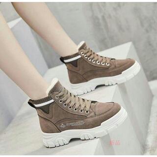 マーティンの靴のショートブーツの綿靴の冬の雪の靴のプラスの絨毯は厚いです。(スニーカー)