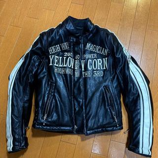 イエローコーン(YeLLOW CORN)のレディース レザージャケット(ライダースジャケット)