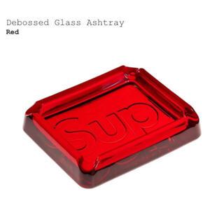シュプリーム(Supreme)のSupreme 20SS Debossed Glass Ashtray Red (灰皿)