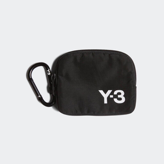 ワイスリー(Y-3)の◆ Y-3 ロゴ ポーチ 小銭入れ 財布 ウォレット カードケース ◆(コインケース/小銭入れ)
