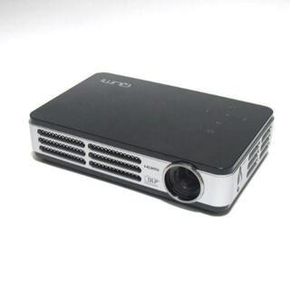 小型 HD高画質モバイルプロジェクター QUMI Q2-B(プロジェクター)