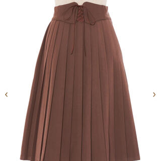 フィント(F i.n.t)の美品 プリーツスカート フィント(ひざ丈スカート)