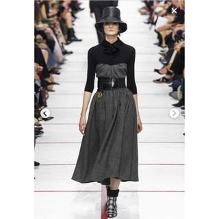 クリスチャンディオール(Christian Dior)の格安❗️美品❗️ディオール 19fw コレクション ツイードドレス サイズ36(ロングワンピース/マキシワンピース)