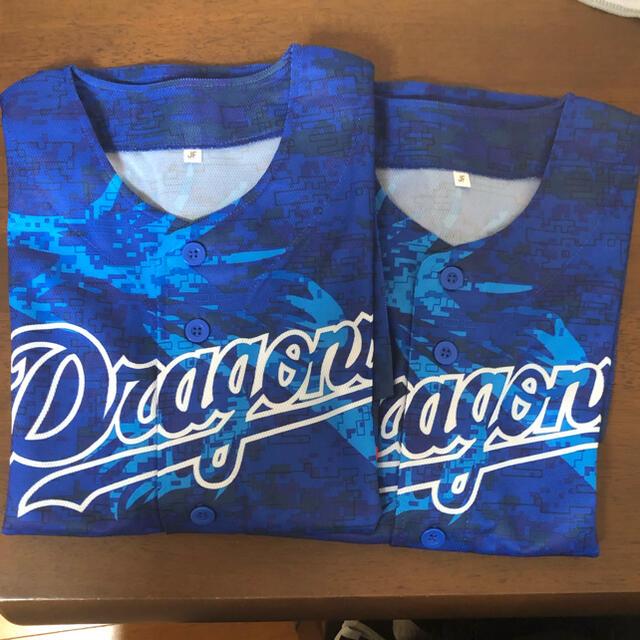 中日ドラゴンズ(チュウニチドラゴンズ)のドラゴンズ ユニフォーム JF 2枚組 スポーツ/アウトドアの野球(応援グッズ)の商品写真