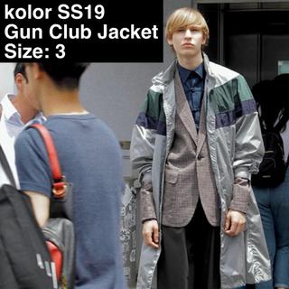 kolor - kolor 19ss Gunclub Check Jacket Size 3