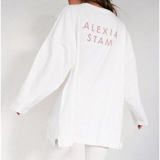 アリシアスタン(ALEXIA STAM)のalexia stam ロンT(Tシャツ(長袖/七分))
