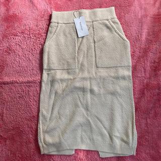 ロデオクラウンズ(RODEO CROWNS)のタグ付き新品未使用ロデオクラウンズスカート(ひざ丈スカート)