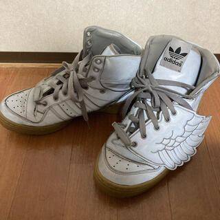 アディダス(adidas)のアディダス×ジェレミースコット ウィング(スニーカー)