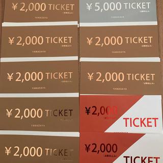 スコットクラブ(SCOT CLUB)のマサのっち☆様専用  ヤマダヤ チケット23,000円分(その他)