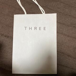 スリー(THREE)の【THREE】【紙袋】(ショップ袋)