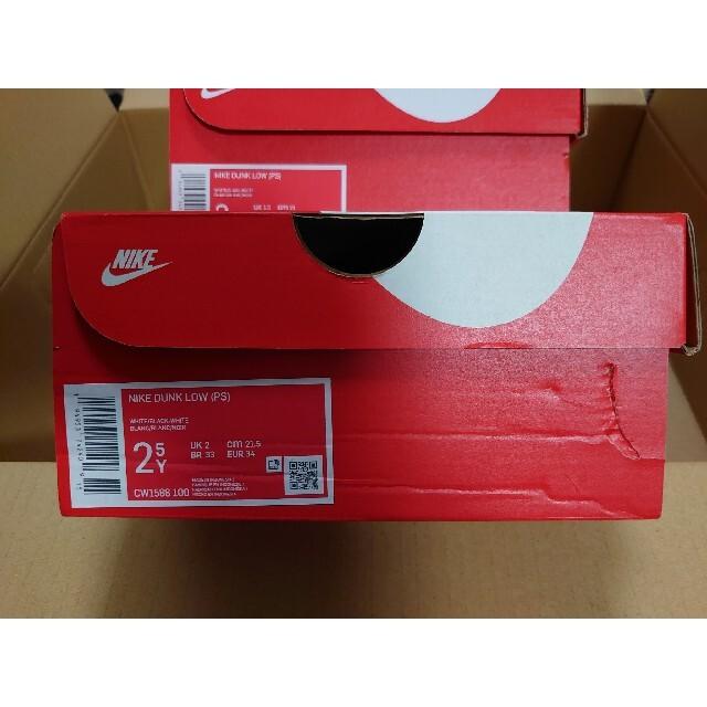 NIKE(ナイキ)の★21.5cm★DUNK LOW (PS) ナイキ ダンク LOW キッズ キッズ/ベビー/マタニティのキッズ靴/シューズ(15cm~)(スニーカー)の商品写真