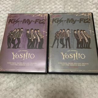キスマイフットツー(Kis-My-Ft2)のYOSHIO -new member-(初回生産限定盤)と(通常盤)(舞台/ミュージカル)